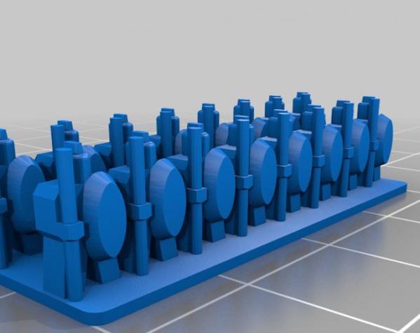 战争游戏玩偶 3D模型  图3