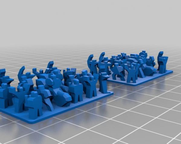 战争游戏玩偶 3D模型  图5