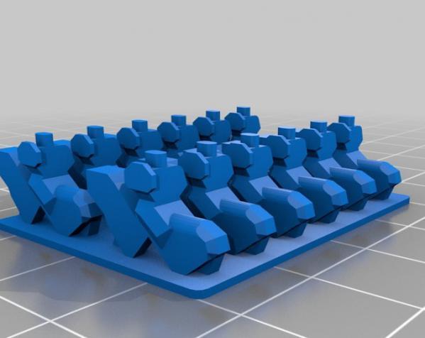 战争游戏玩偶 3D模型  图6
