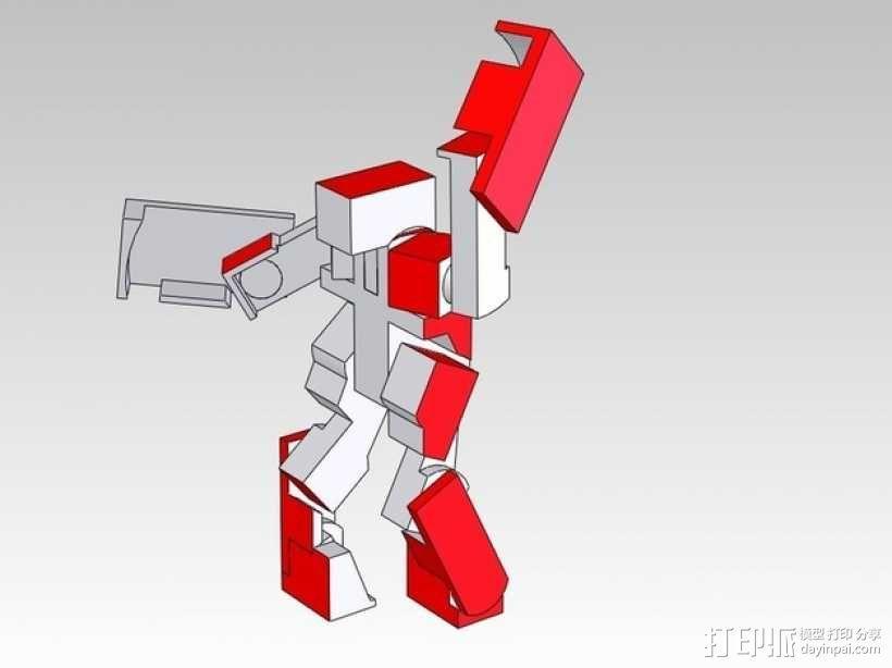 BlockBot玩具 3D模型  图2