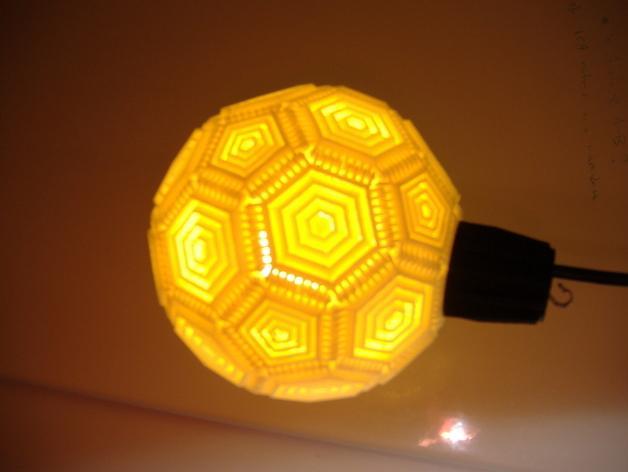 巴基球形灯泡 3D模型  图5