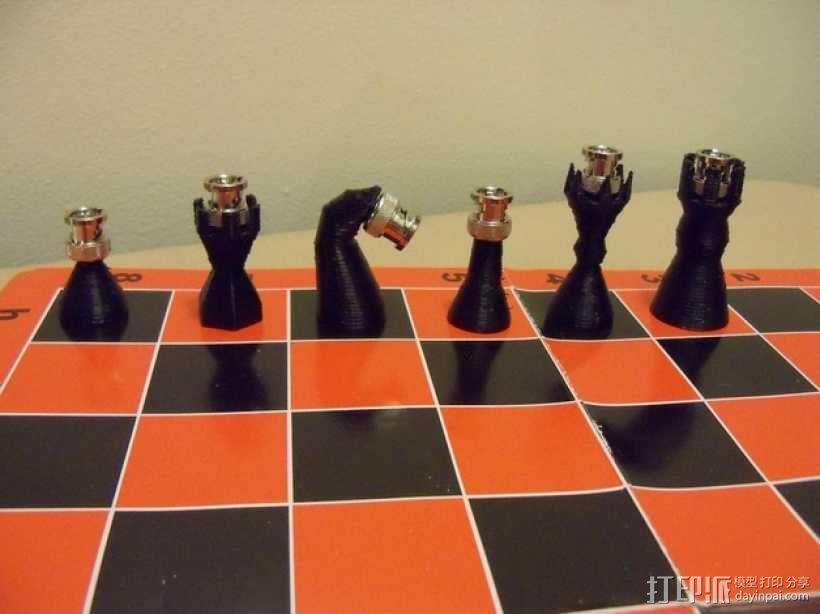 BNC象棋 3D模型  图8