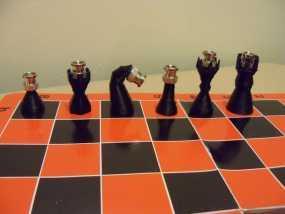 BNC象棋 3D模型