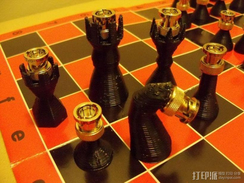 BNC象棋 3D模型  图11