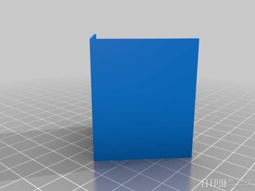 迷你隔间办公室 3D模型  图3