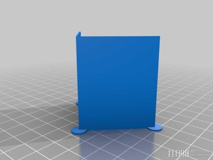 迷你隔间办公室 3D模型  图4