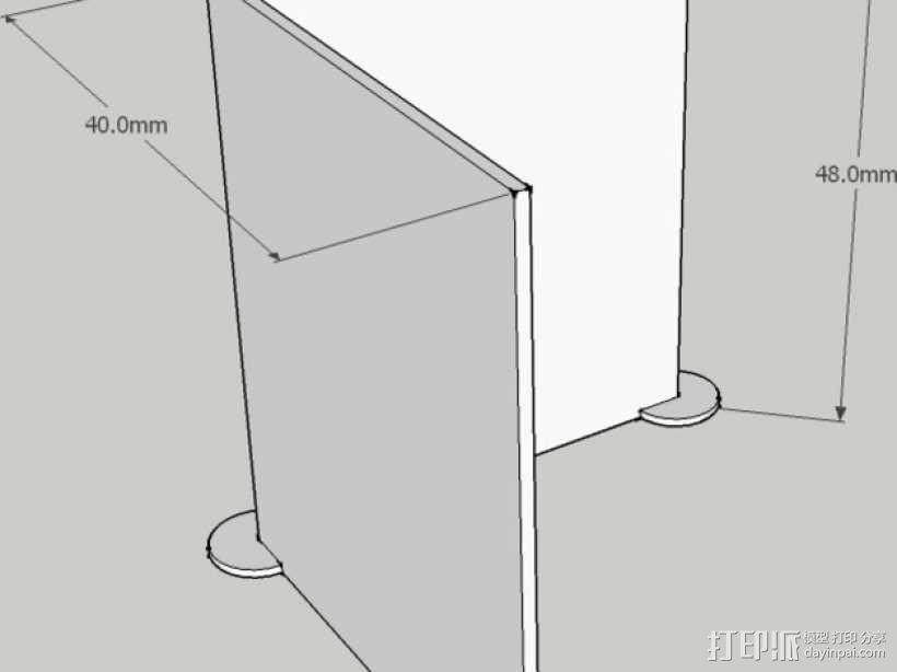 迷你隔间办公室 3D模型  图9