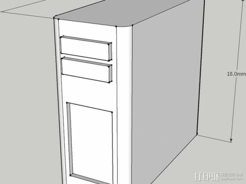 迷你隔间办公室 3D模型  图8