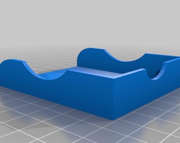 卡片夹 3D模型  图1