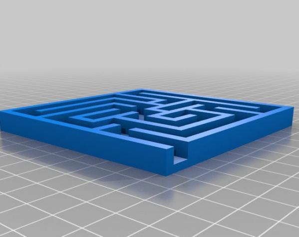 重力球迷宫 3D模型  图1