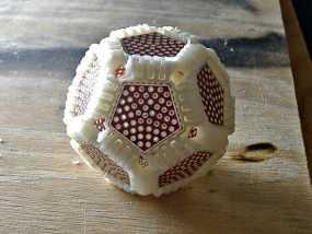 十二面球体 3D模型