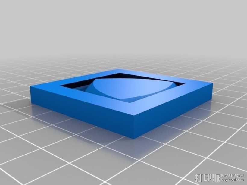 勒洛三角形 3D模型  图1