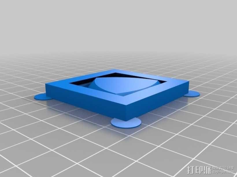 勒洛三角形 3D模型  图3