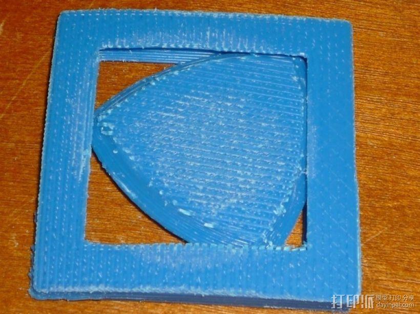 勒洛三角形 3D模型  图2