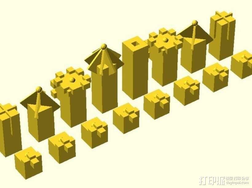 Laird象棋 3D模型  图1