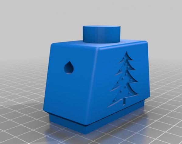 圣诞机器人 3D模型  图1