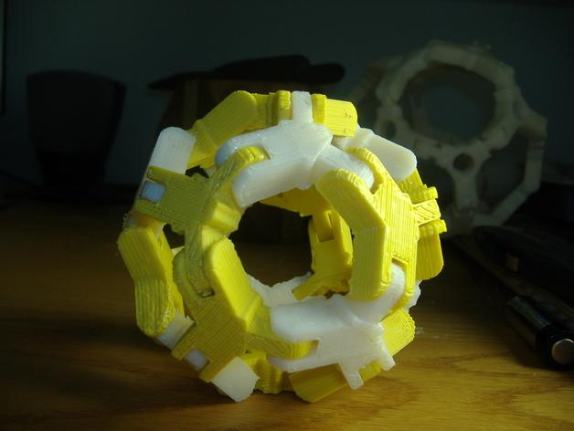 迷你组装多面体 3D模型  图2