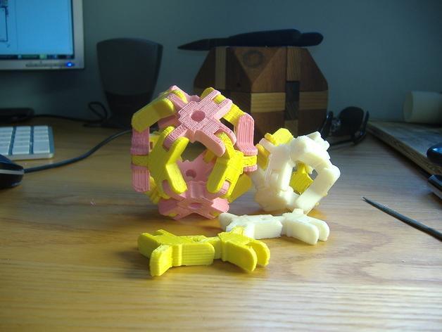 迷你组装多面体 3D模型  图3