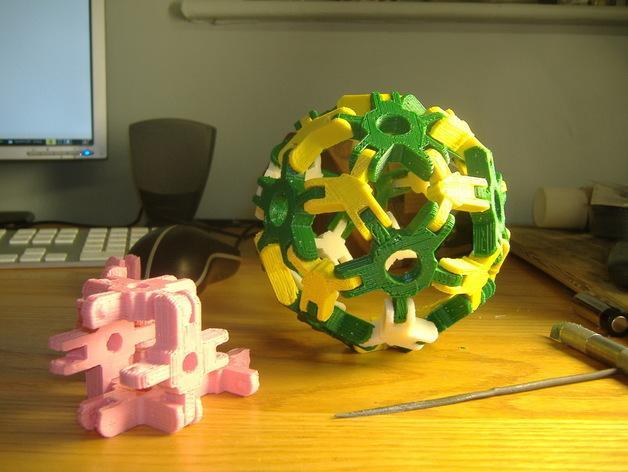 迷你组装多面体 3D模型  图6