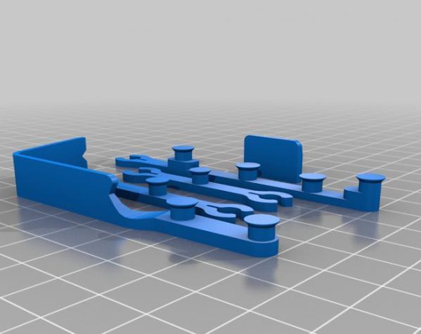单腿弹跳蛙 3D模型  图6