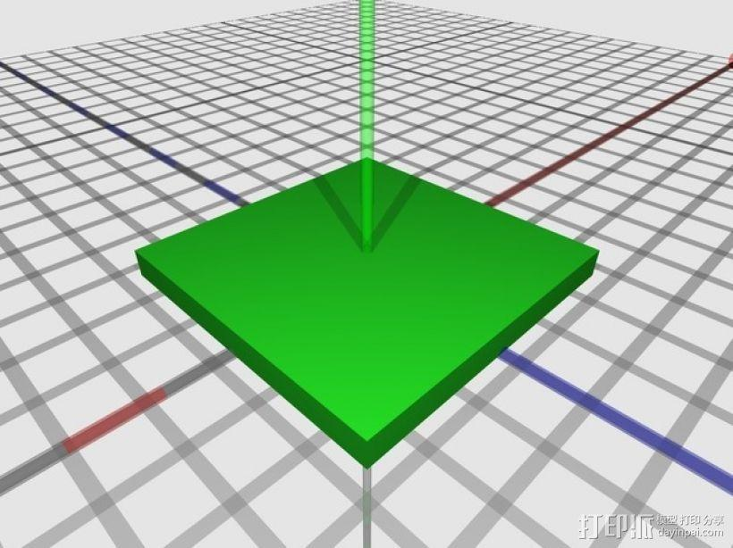 游戏联锁卡片 3D模型  图1