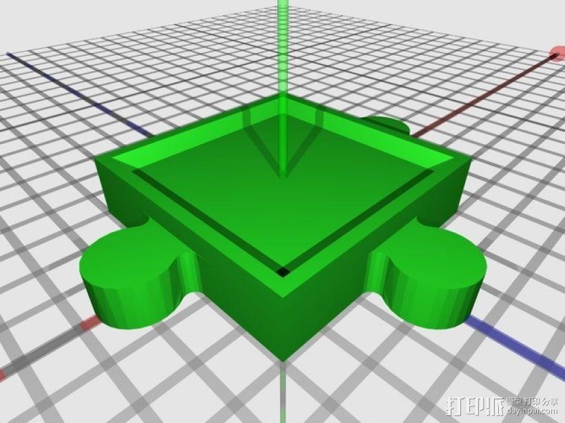 游戏联锁卡片 3D模型  图5
