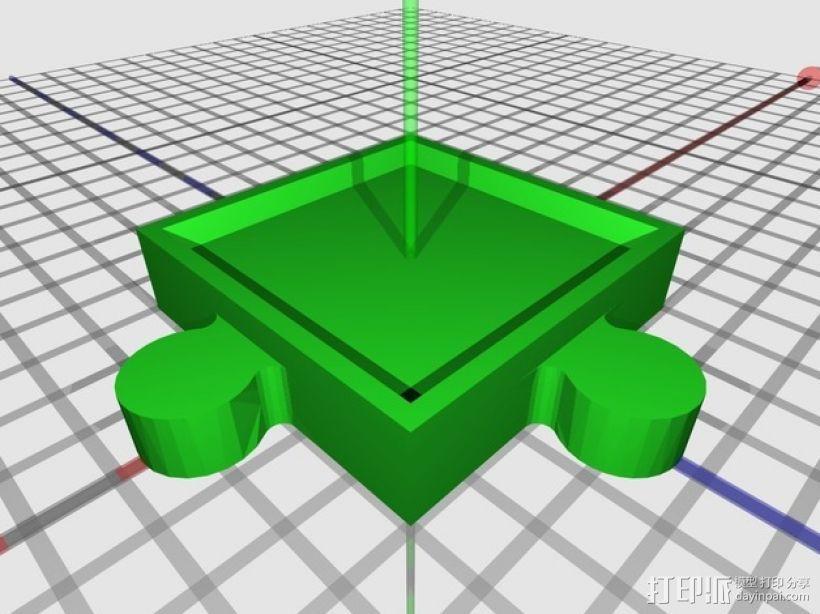 游戏联锁卡片 3D模型  图3