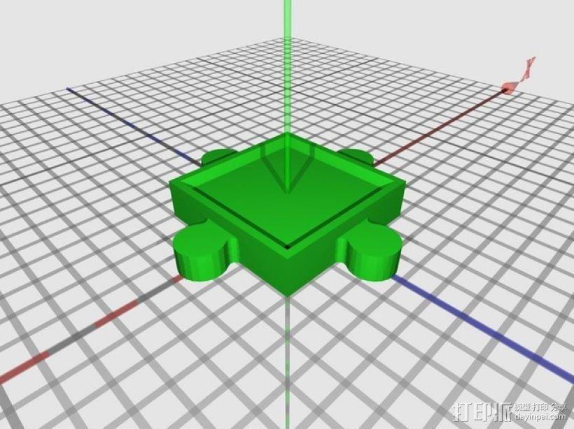 游戏联锁卡片 3D模型  图7