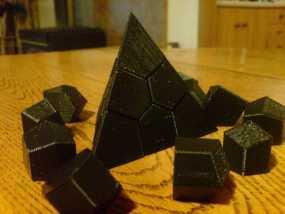 Voroni四面体 3D模型