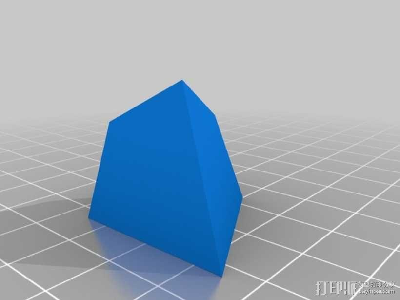 Voroni四面体 3D模型  图4