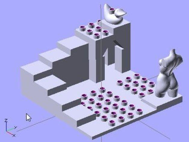 Doblo玩具工厂 3D模型  图3