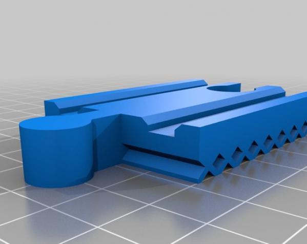 玩具火车轨道 3D模型  图2