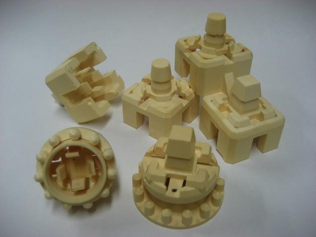模块化方块 3D模型  图2