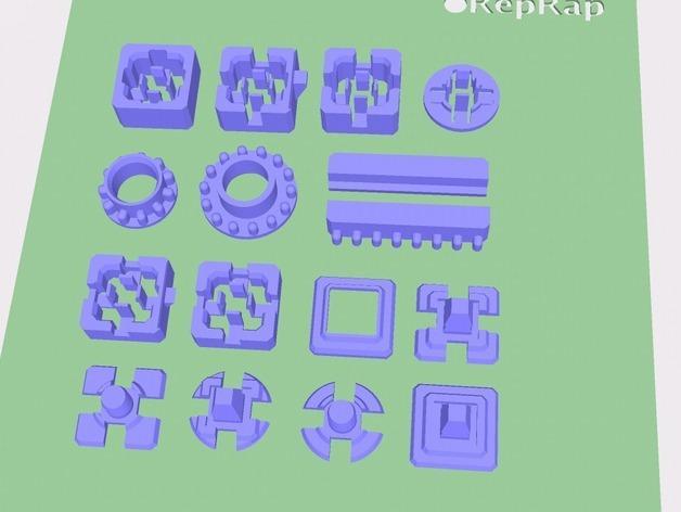 模块化方块 3D模型  图4