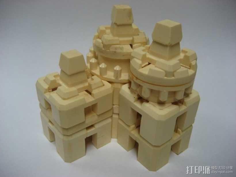 模块化方块 3D模型  图1