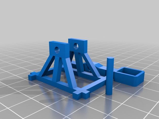 桌面式弹射器 3D模型  图3