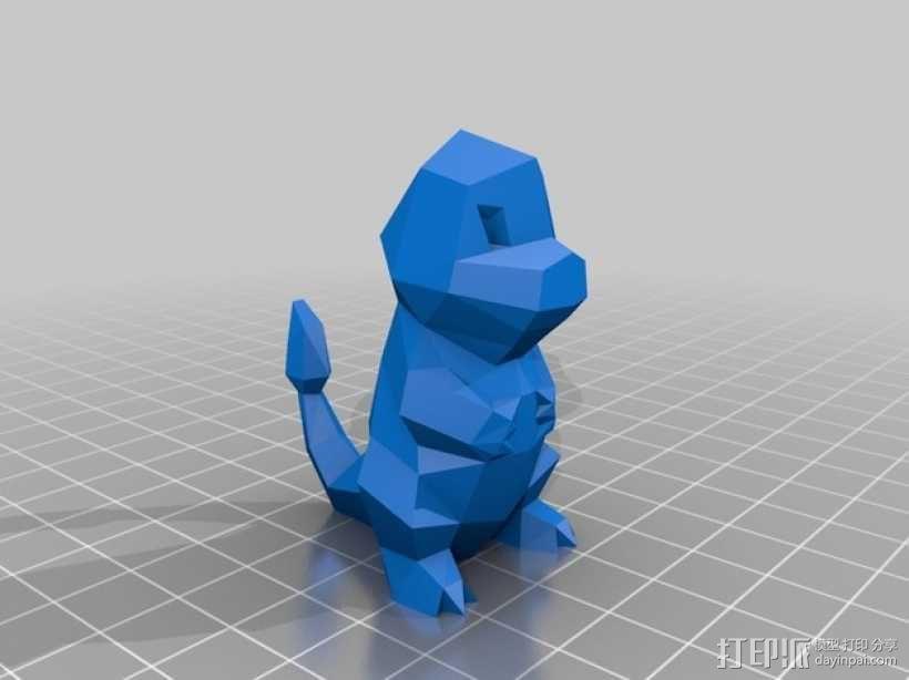 小火龙 3D模型  图2