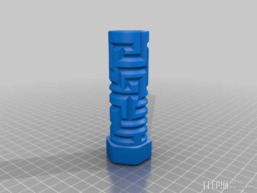 迷宫形礼物盒 3D模型  图2