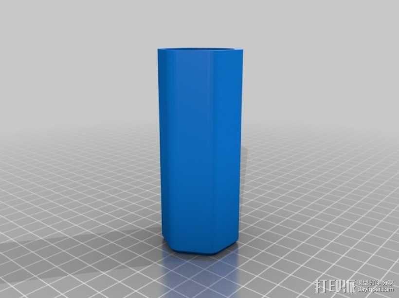 迷宫形礼物盒 3D模型  图3