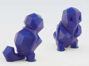 杰尼龟 3D模型