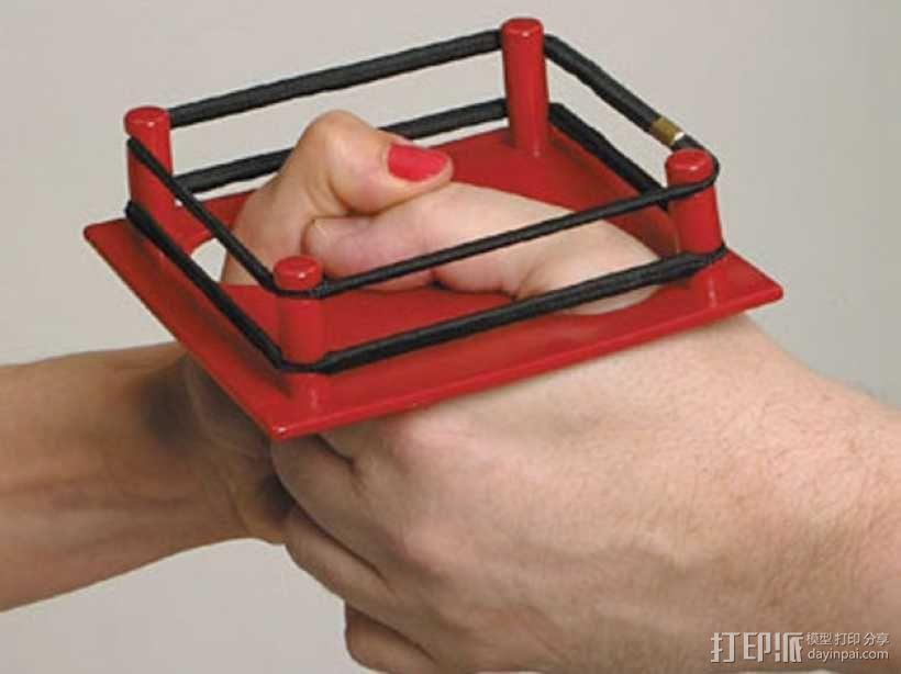 拇指角斗场 3D模型  图1