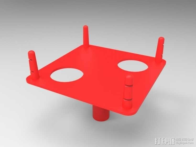 拇指角斗场 3D模型  图2