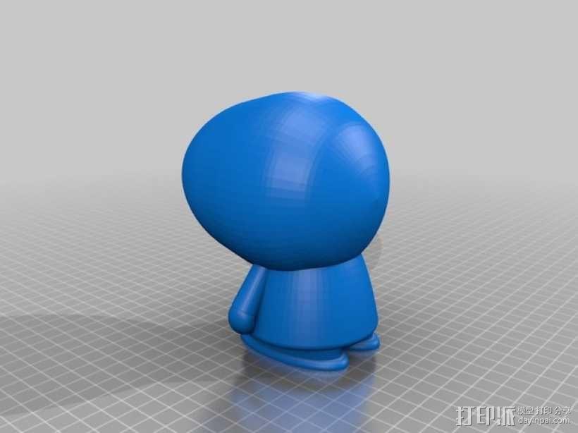 动漫《南方公园》玩偶 3D模型  图7