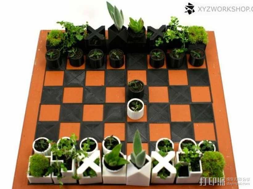 迷你植物象棋 3D模型  图5