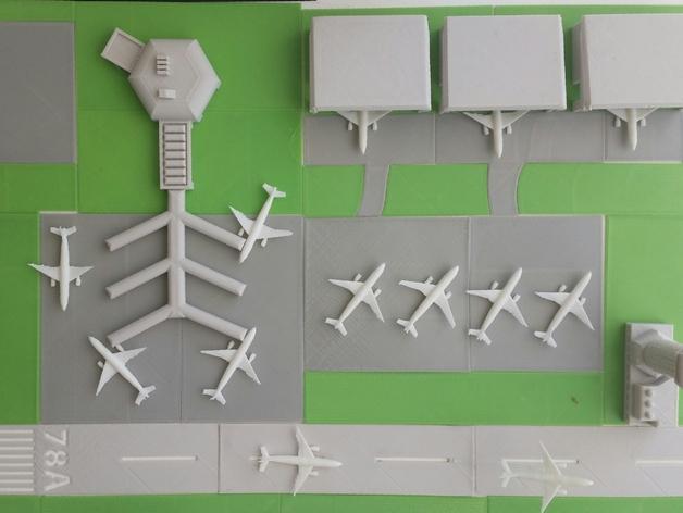 迷你飞机场 3D模型  图34