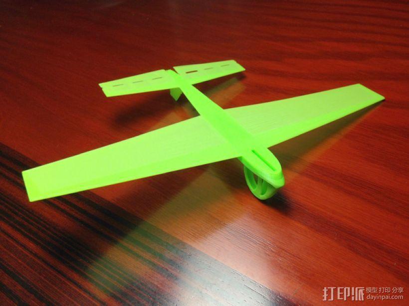 飞机飞行器 3D模型  图1
