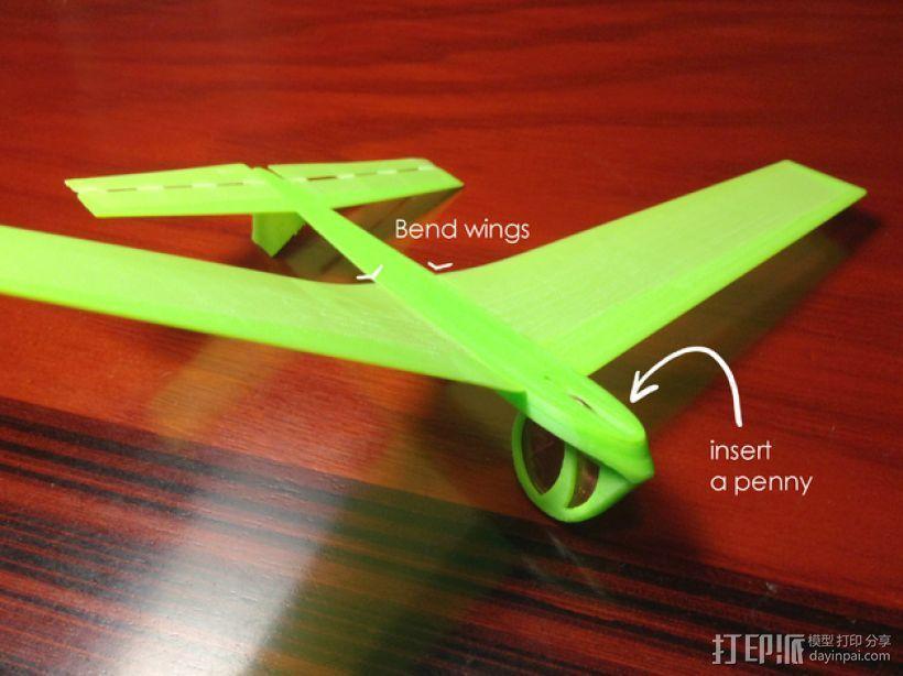 飞机飞行器 3D模型  图3