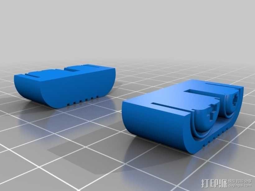 机器人瓦力 3D模型  图2
