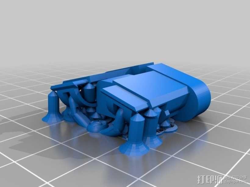 机器人瓦力 3D模型  图3