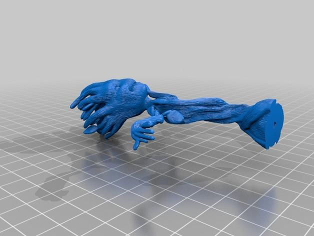 会跳舞的小树精 3D模型  图2